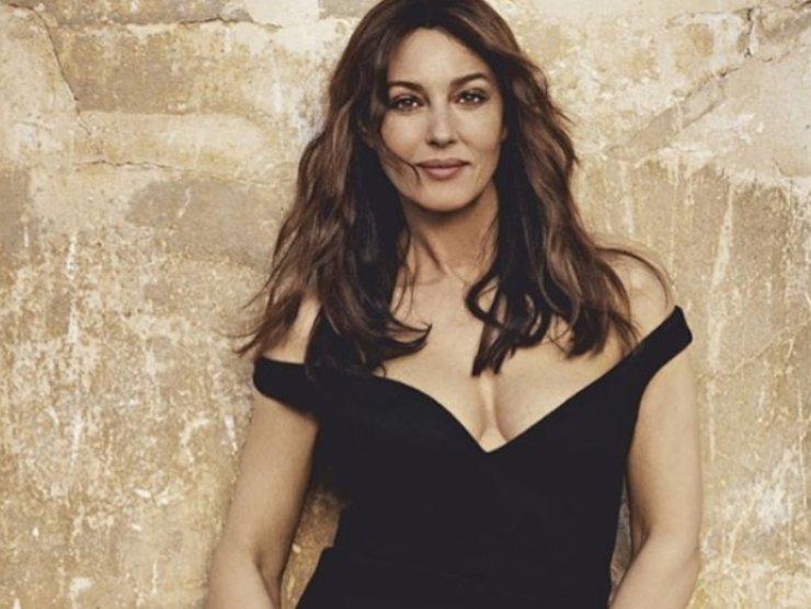 Monica Bellucci amore passione single