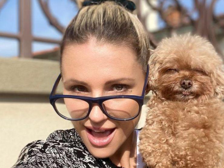 Michelle Hunziker cagnolina Lilly dolore morte