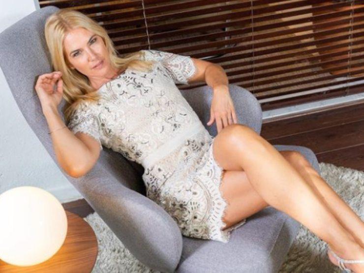 Valeria Mazza sfilata Gianni Versace abito