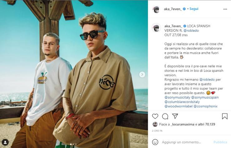 Screenshot Instagram Aka7even
