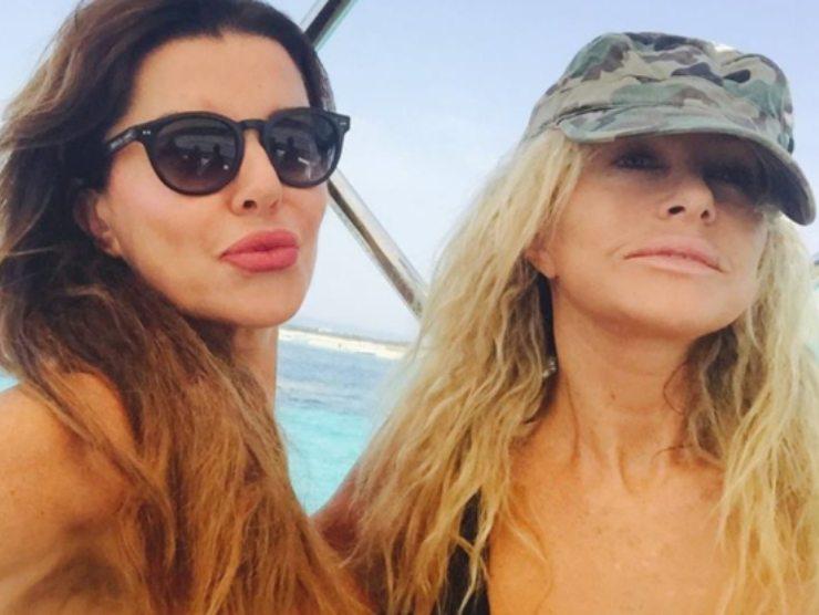 Paola Ferrari Alba Parietti amicizia donne invidia successo