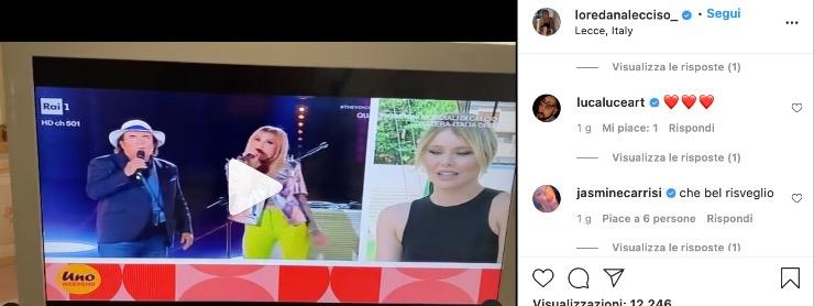 Jasmine Carrisi e Al Bano, il video pubblicato da Loredana Lecciso