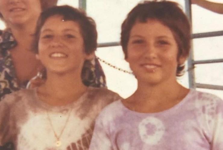 Jo Squillo e sua sorella Paola Coletti