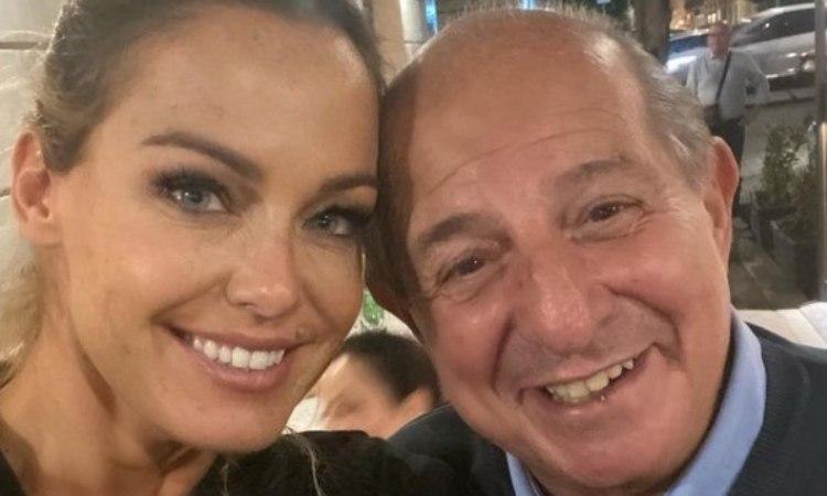 Sonia Bruganelli e Giancarlo Magalli
