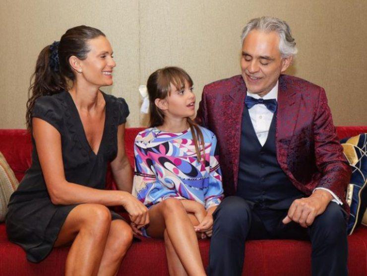 Andrea Bocelli moglie Veronica Berti romantico proposta matrimonio