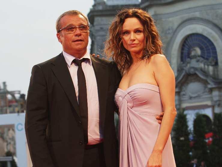 Claudio Amendola moglie Francesca Neri malattia
